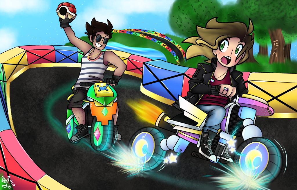 Mario Kart by Emily